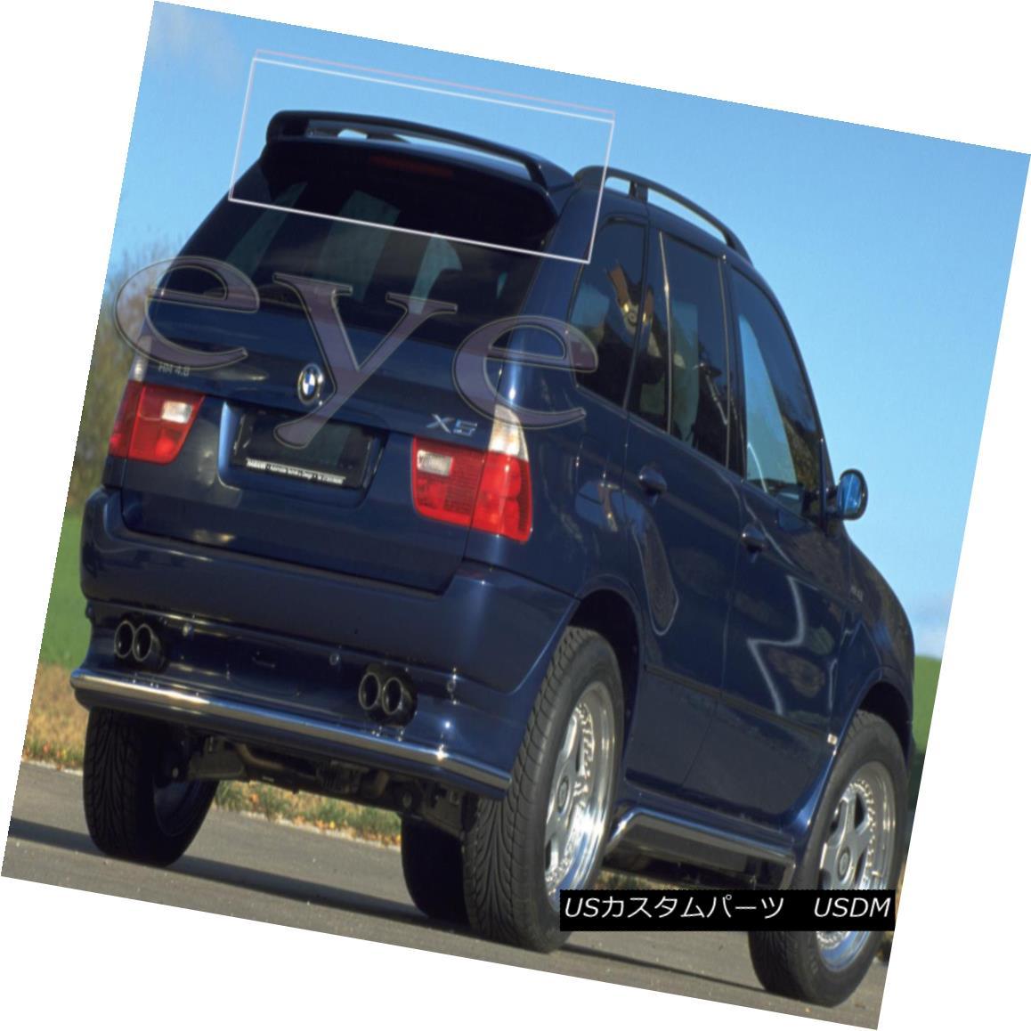 エアロパーツ BMW X5 E53 REAR ROOF SPOILER BOOT / TRUNK / TAILGATE BMW X5 E53リアルーフスポイラーブーツ/トランク/テールゲート