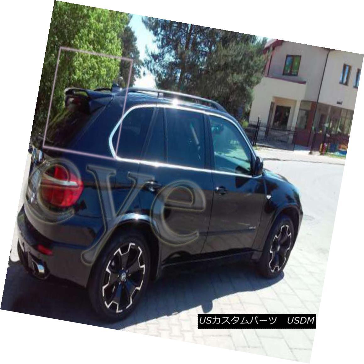 エアロパーツ BMW X5 E70 REAR ROOF SPOILER BMW X5 E70リアルーフスポイラー
