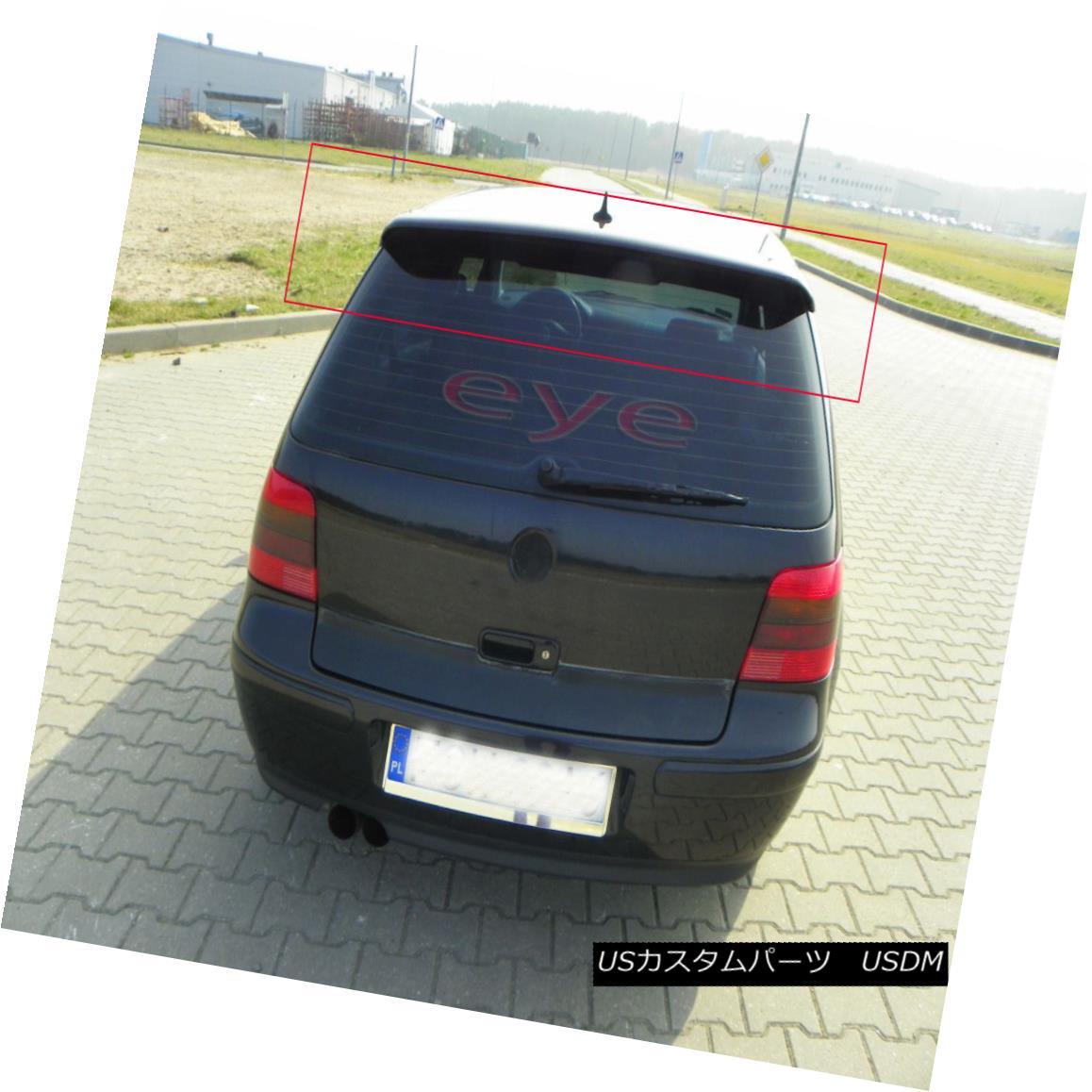 エアロパーツ VW VOLKSWAGEN GOLF 4 MK4 R32 LOOK REAR ROOF SPOILER BOOT / TRUNK / TAILGATE VWフォルクスワーゲンゴルフ4 MK4 R32ルアースポイラーブーツ/トランク/テールゲート