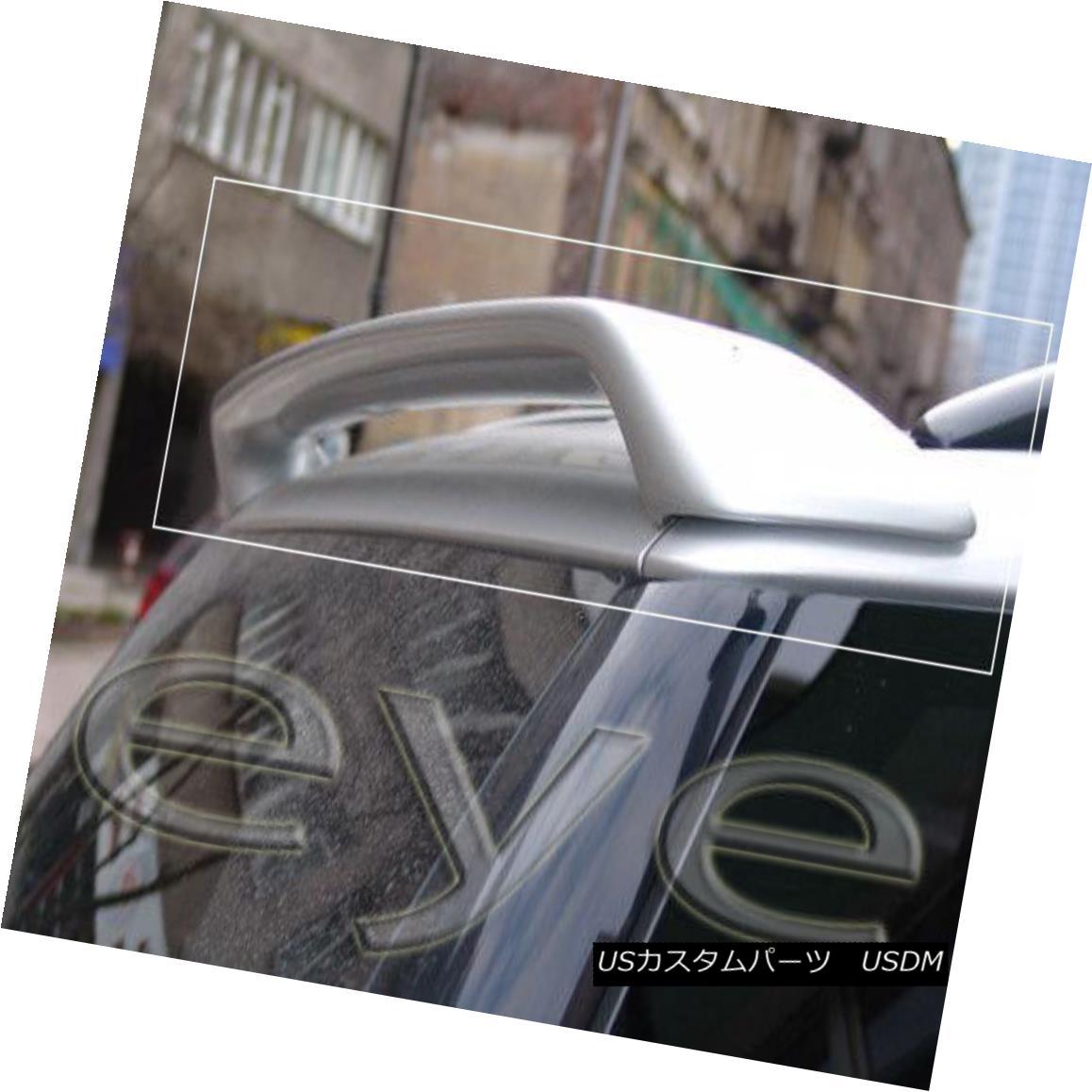 エアロパーツ Mercedes ML W163 ( 1998-2005 ) REAR ROOF SPOILER BOOT / TRUNK / TAILGATE メルセデスML W163(1998-2005)リアルーフスポイラーブーツ/トランク/テールゲート