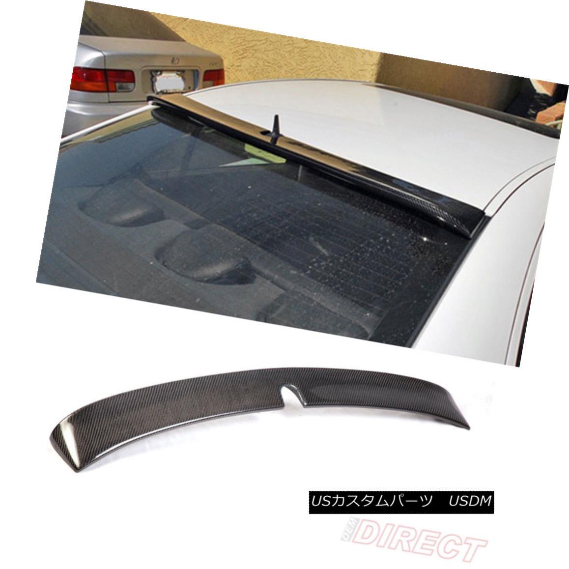 エアロパーツ 03-05 Benz E-Class W211 Roof Spoiler - Carbon Fiber CF 03-05ベンツEクラスW211ルーフスポイラー - 炭素繊維CF