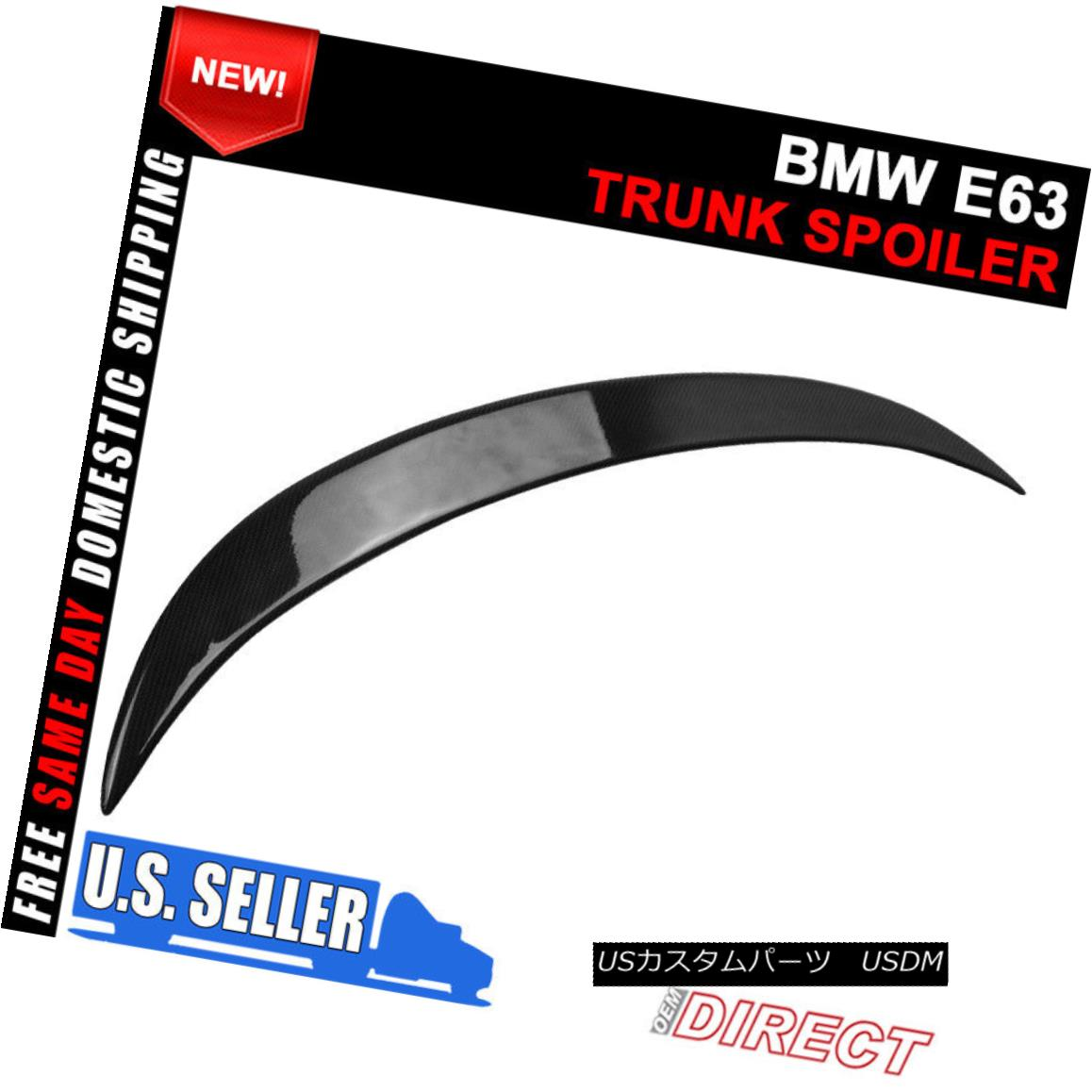 For BMW 6-SERIES E63 COUPE V TYPE TRUNK BOOT SPOILER M6 04-08