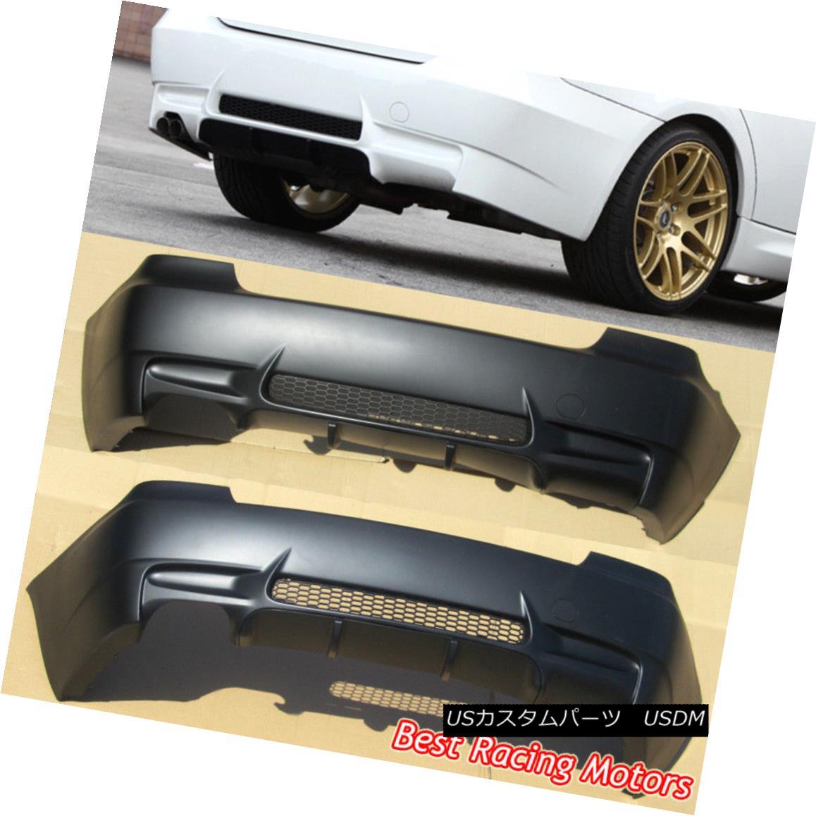エアロパーツ Rear M Style Rear BMW Fits Bumper Cover (PP) [Single Exhaust] Fits 07-13 BMW E92 E93 2dr Mスタイル後部バンパーカバー(PP)[シングルエキゾースト]適合07-13 BMW E92 E93 2dr, 山県市:89f99c8b --- officewill.xsrv.jp