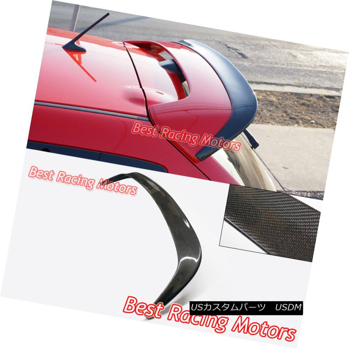 エアロパーツ MS Style Add On Roof Spoiler Wing (Carbon) Fits 07-09 MazdaSpeed 3 MS Style Add Roof Spoilerウィング(カーボン)Fits 07-09 MazdaSpeed 3