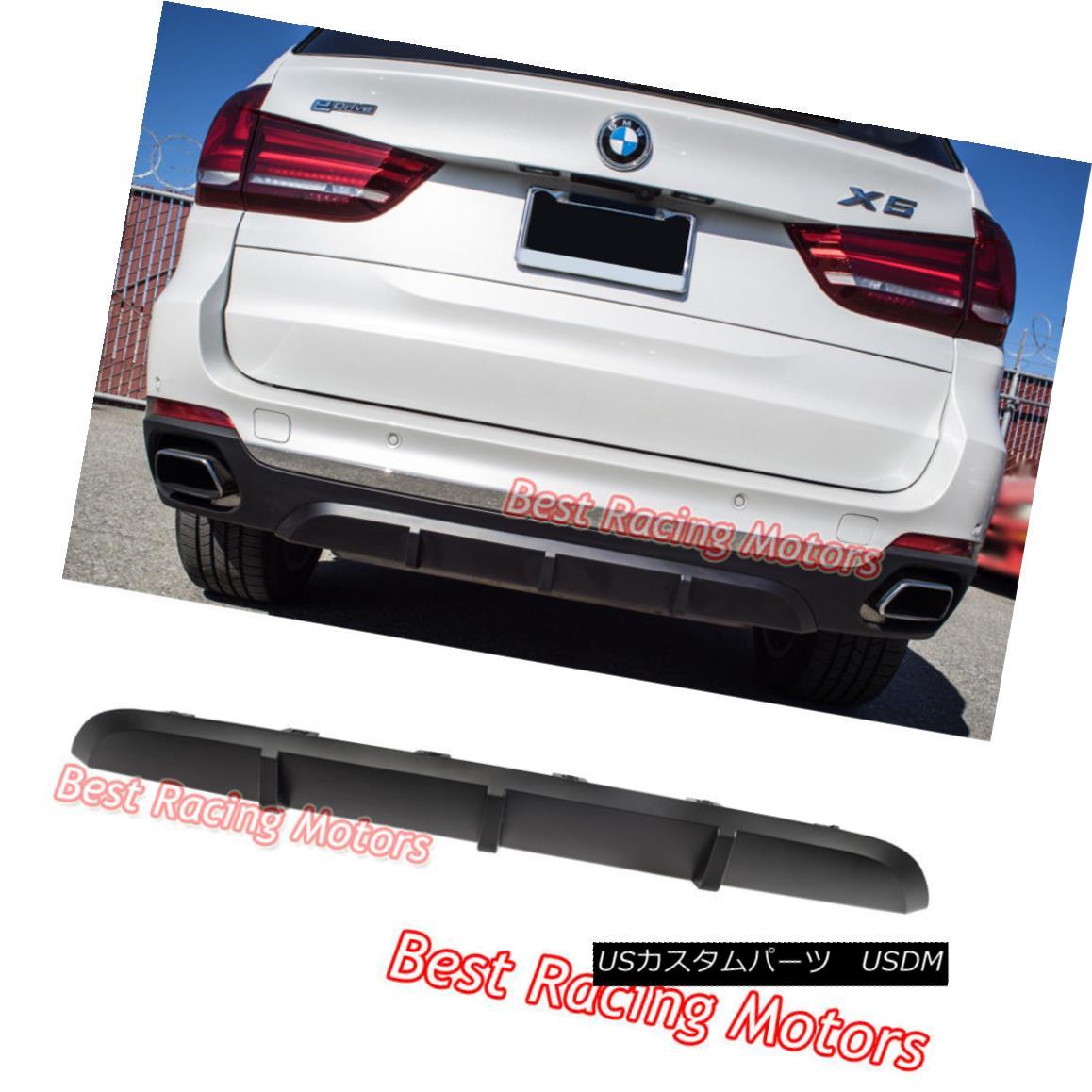 エアロパーツ Performance Style Rear Bumper Diffuser (PP) Fits 14-17 BMW F15 X5 パフォーマンススタイルリアバンパーディフューザー(PP)は14-17に適合BMW F15 X5