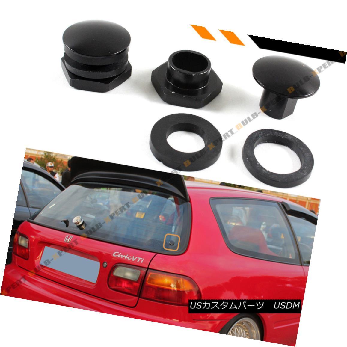 エアロパーツ For 92-95 Honda Civic EG6 Hatchback Rear Window Glass Strut Hardware Repair Kit 92-95ホンダシビックEG6ハッチバックリアウィンドウガラスストラットハードウェア修理キット
