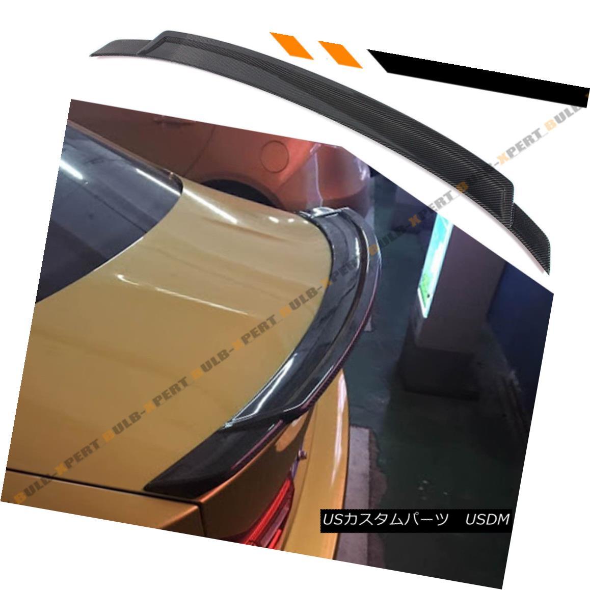エアロパーツ FOR 15-18 BMW F82 M4 HIGH KICK DUCKBILL EXTENDED CARBON FIBER TRUNK SPOILER WING FOR 15-18 BMW F82 M4ハイキック・ダックビル・エクステンデッド・カーボンファイバー・トランク・スポイラー・ウィング