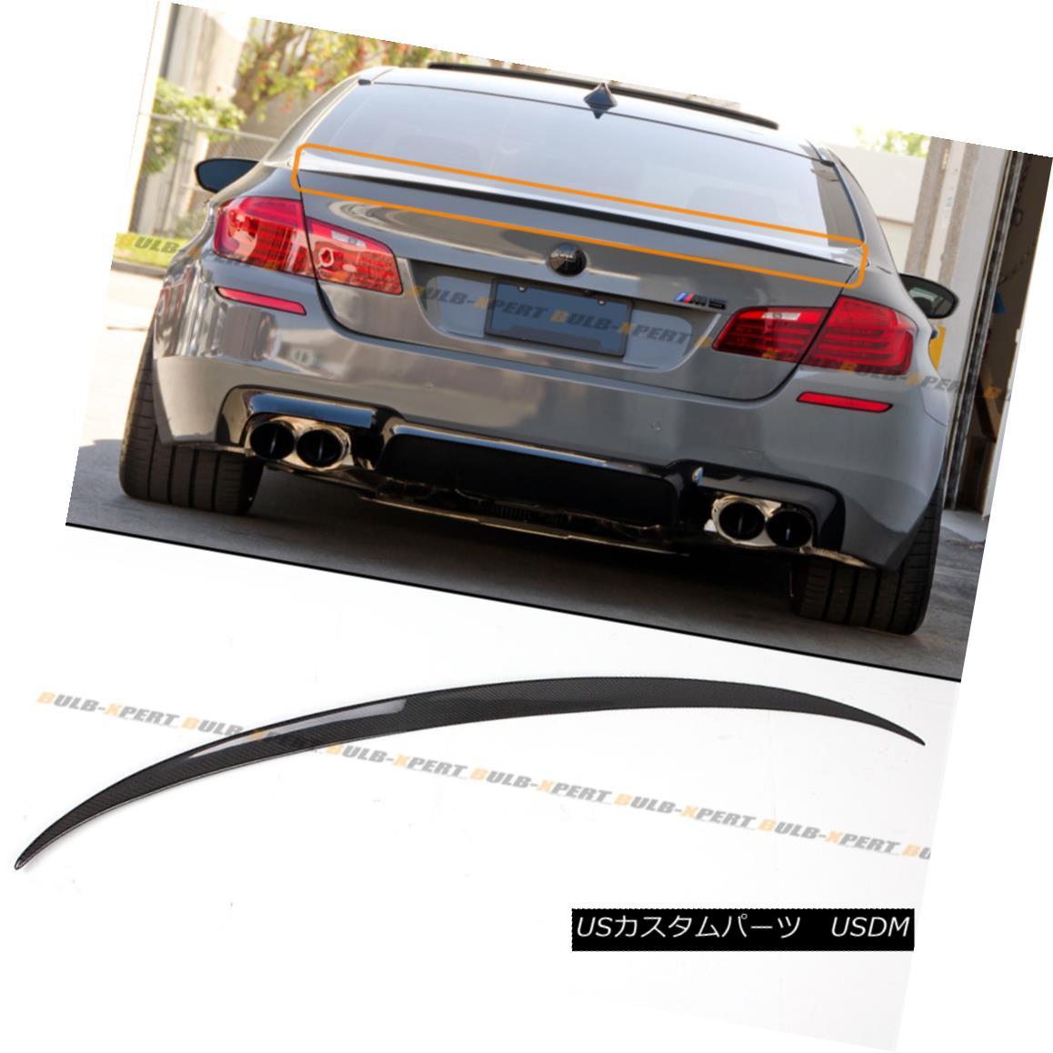 エアロパーツ For 11-16 BMW F10 5 Series 535i 528i Carbon Fiber M5 OE Style Trunk Spoiler Wing 11-16 BMW F10 5シリーズ535i 528i炭素繊維M5 OEスタイルトランク・スポイラー・ウィング