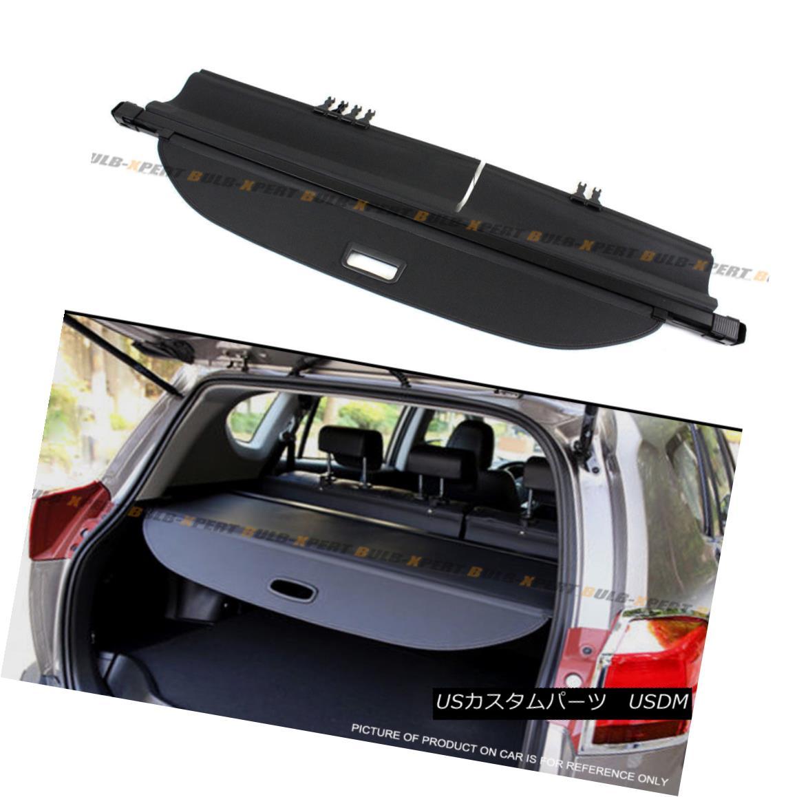 エアロパーツ For 2013-2017 Toyota Rav4 SUV Retractable Rear Trunk Cargo Cover Luggage Shade Toyota Rav4 SUVリトラクタブルリアトランクカーゴカバー荷物シェード