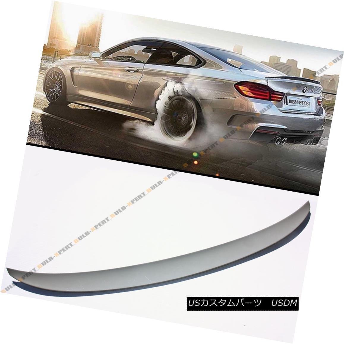 エアロパーツ PERFORMANCE STYLE PRIMERED FRP TRUNK SPOILER WING FOR BMW F32 428i 438i & M4 BMW F32 428i 438i& F32用のパフォーマンススタイルのプリミティブFRP TRUNK SPOILER WING M4