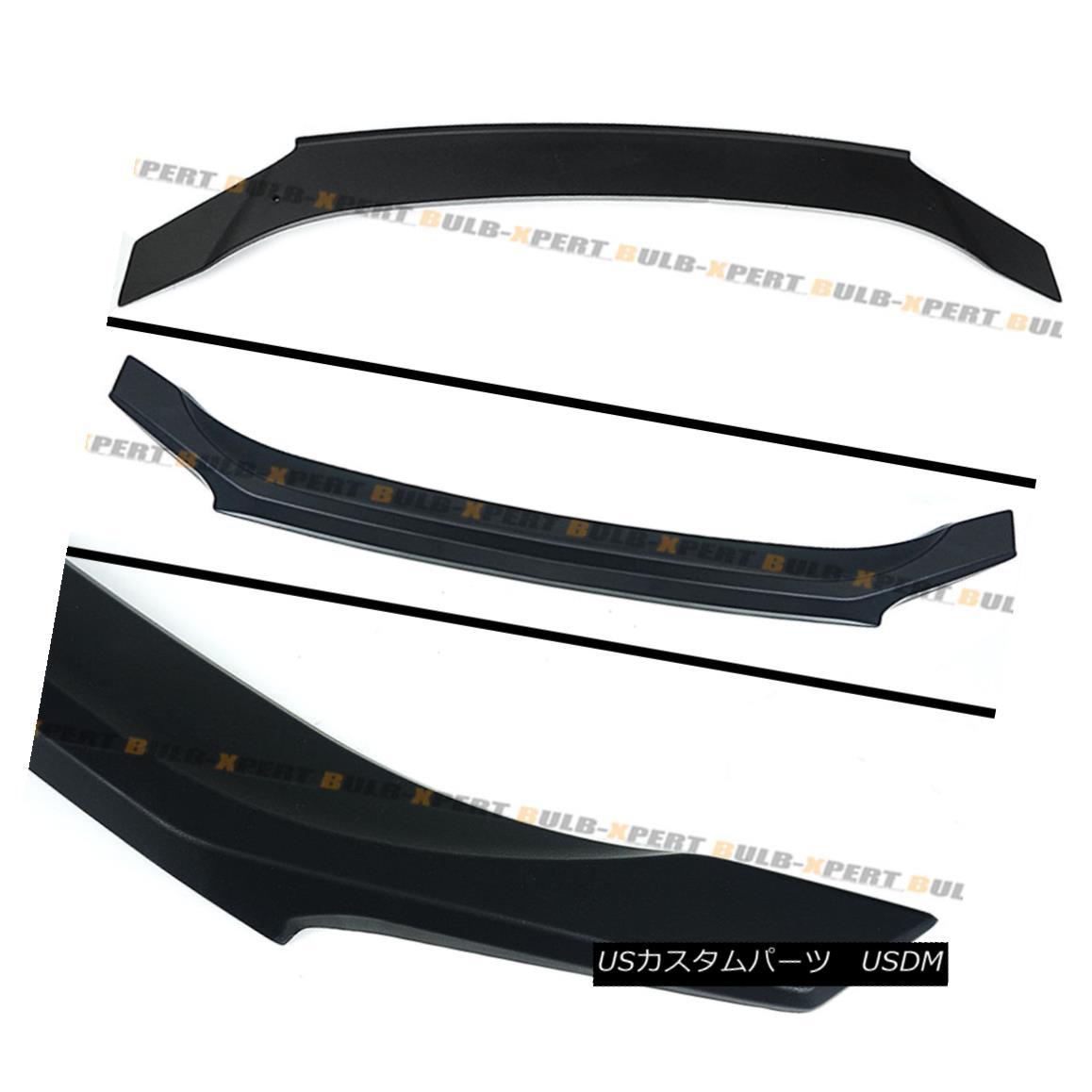 Trunk lip Spoiler Combo For 06-12 IS250 IS350 Unpainted Rear Window Roof Wing