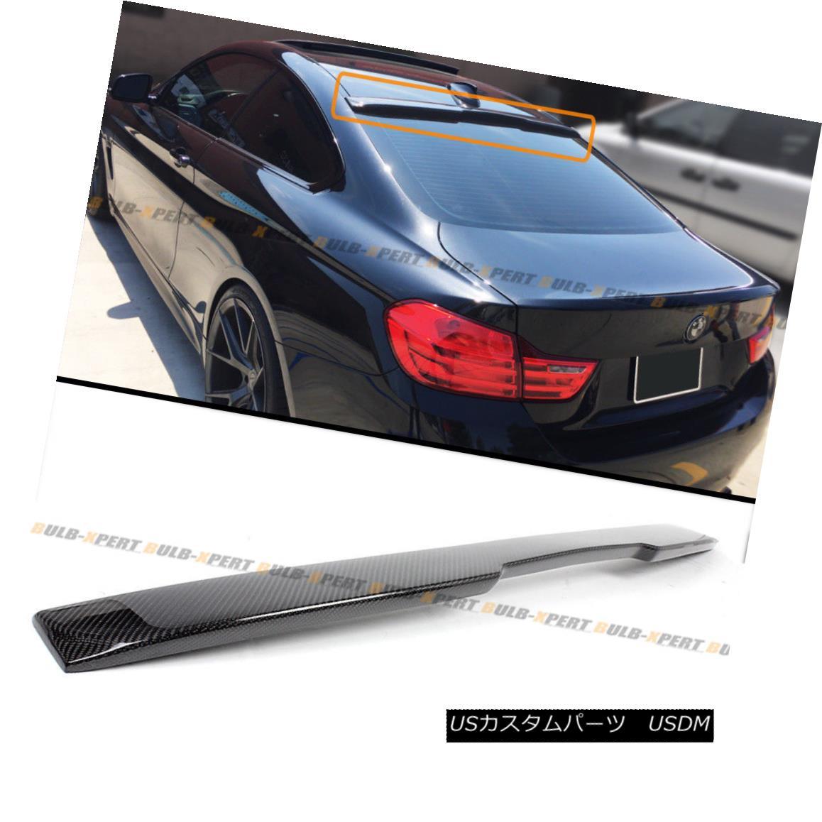 <title>車用品 バイク用品 >> パーツ 外装 エアロパーツ リアスポイラー FOR 2014-18 BMW F32 428i 435i 4 SERIES COUPE CARBON 上品 FIBER REAR ROOF SPOILER WING 4シリーズカーボンカーボンファイバーリアルーフスポイラーウイング</title>