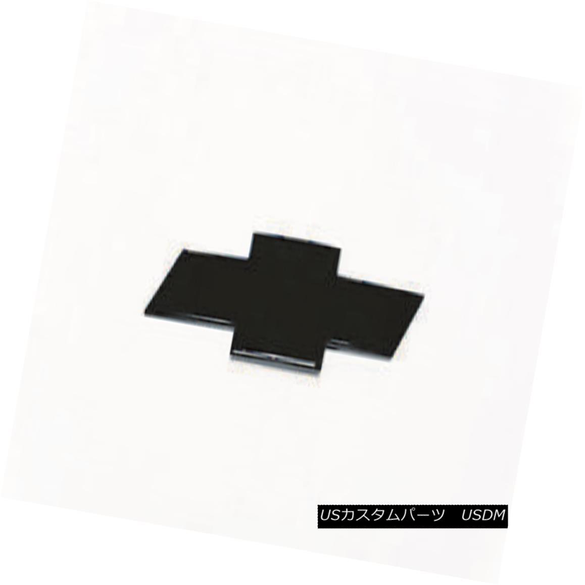 グリル PUTCO 99997GMB - Emblem Kit Fits 15-17 Chevy Suburban - Black Powdercoat PUTCO 99997GMB - エンブレムキットは15-17シボレー郊外にフィット - ブラックパウダーコート