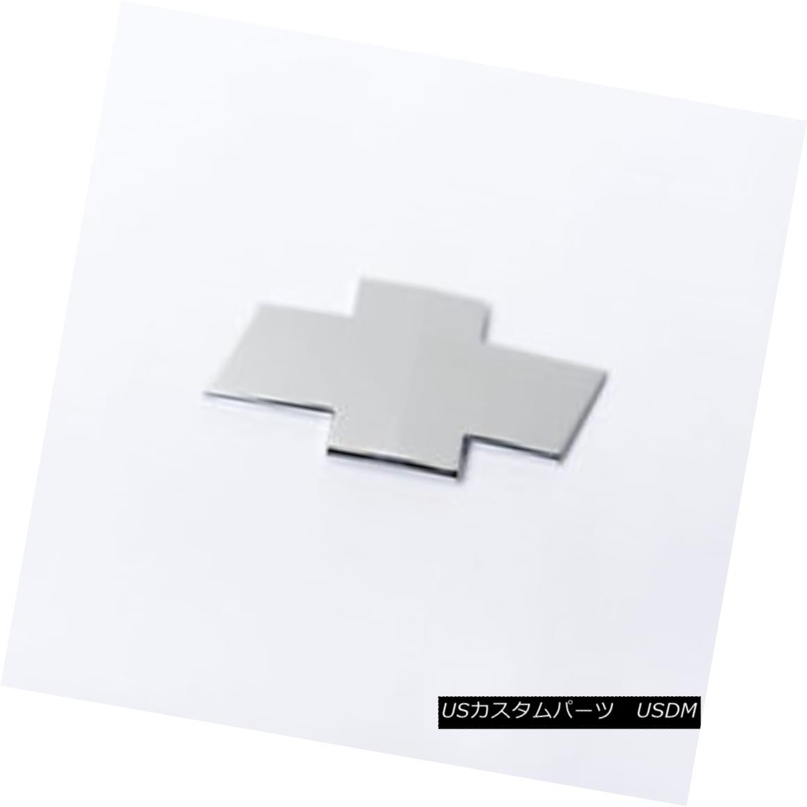 グリル PUTCO 99993GMC - Emblem Kit Fits 11-14 Chevy Silverado 2500/3500 - Chrome PUTCO 99993GMC - エンブレムキットは11-14 Chevy Silverado 2500/3500に適合