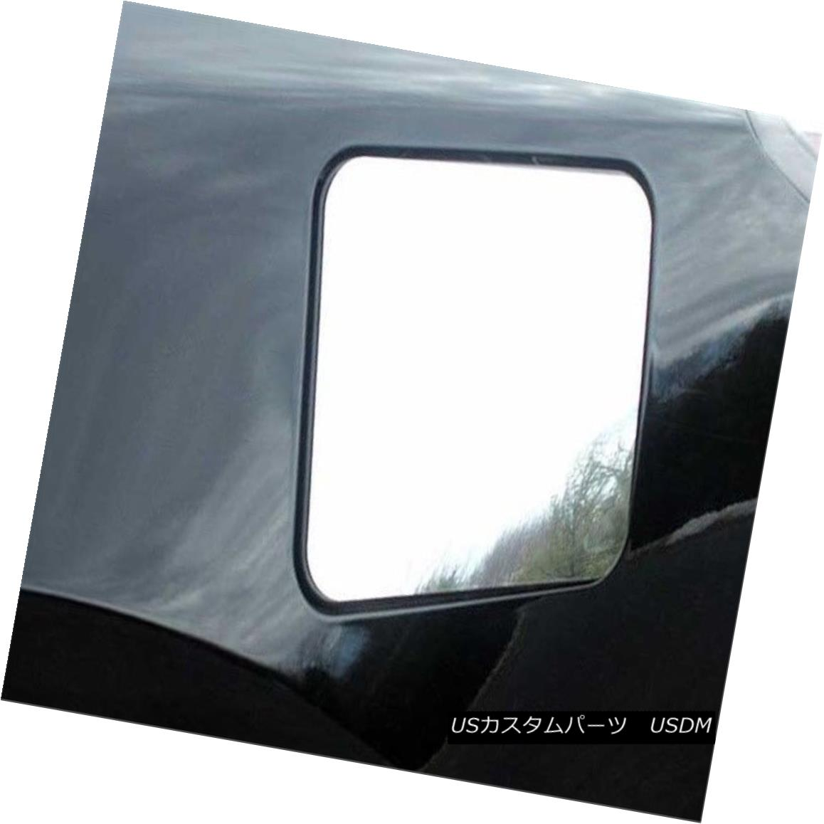 グリル Fits 2002-2006 NISSAN ALTIMA 4-door -Stainless Steel GAS CAP DOOR フィット2002-2006日産アルティマ4ドアステンレススチールガスCAP DOOR