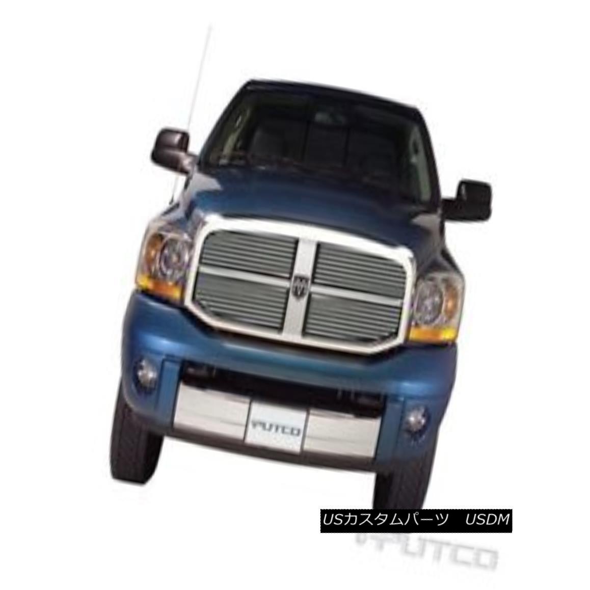 グリル PUTCO 71156 - Shadow Billet Grille for 06-08 Dodge Ram 1500/2500/3500 PUTCO 71156 - 06-08ダッジラム1500/2500/3500用シャドービレットグリル