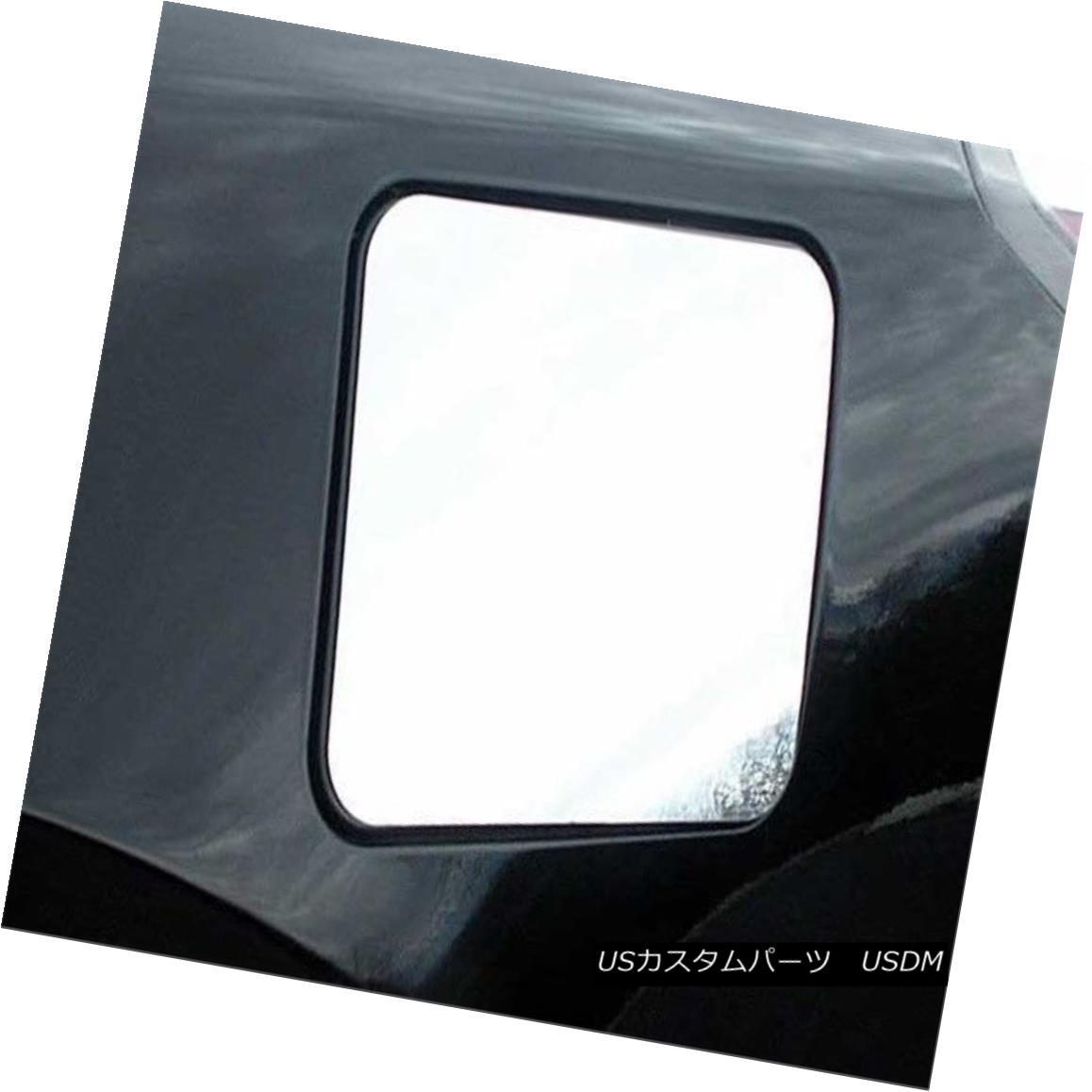 グリル Fits 2007-2012 NISSAN ALTIMA 4-door -Stainless Steel GAS CAP DOOR GC27550 フィット2007-2012日産アルティマ4ドア - ステンレススチールガスCAP DOOR GC27550