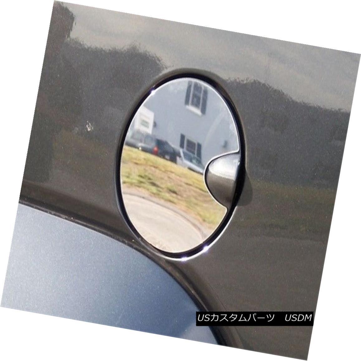 グリル Fits 2008-2012 JEEP LIBERTY 4-door, SUV -Stainless Steel GAS CAP DOOR フィット2008-2012ジープリバティー4ドア、SUV - ステンレススチールガスCAP DOOR