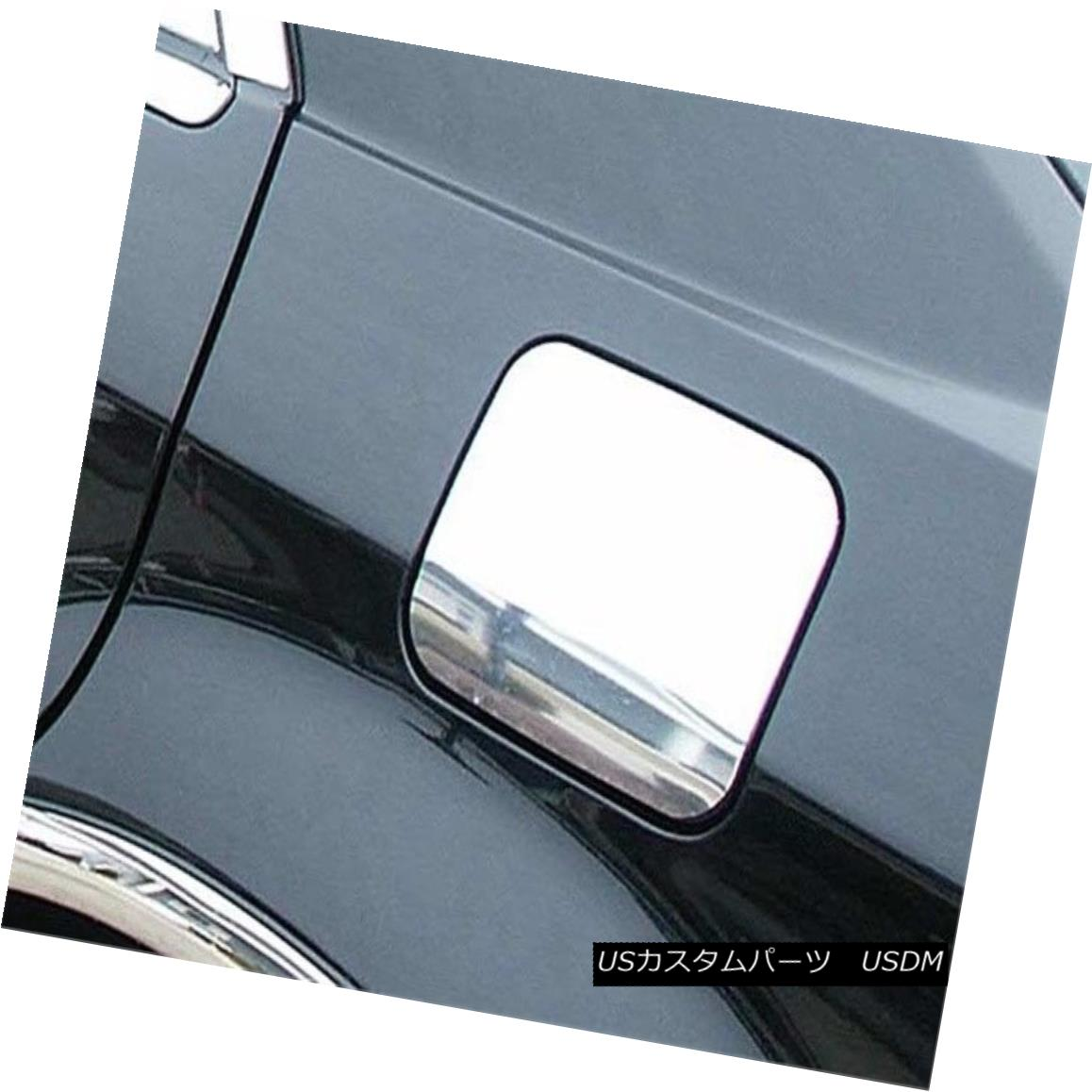 グリル Fits 2005-2008 DODGE MAGNUM 4-door -Stainless Steel GAS CAP DOOR フィット2005-2008ドッジマグナム4ドア - ステンレススチールガスCAPドア