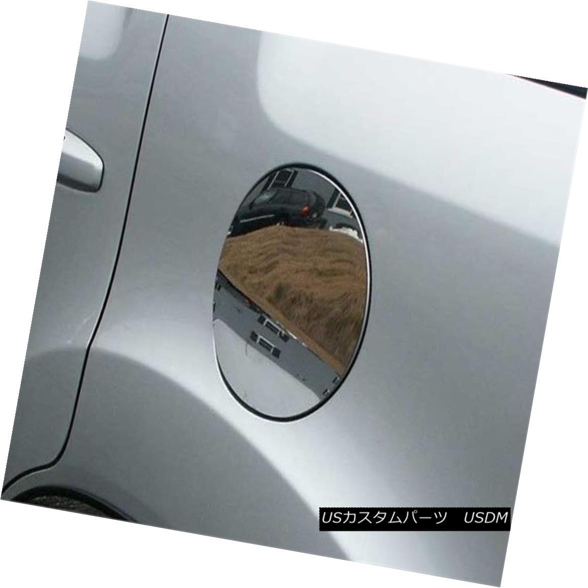グリル Fits 2009-2015 HONDA PILOT 4-door, SUV -Stainless Steel GAS CAP DOOR 2009-2015 HONDA PILOT 4ドアSUV - ステンレススチールガスCAP DOOR