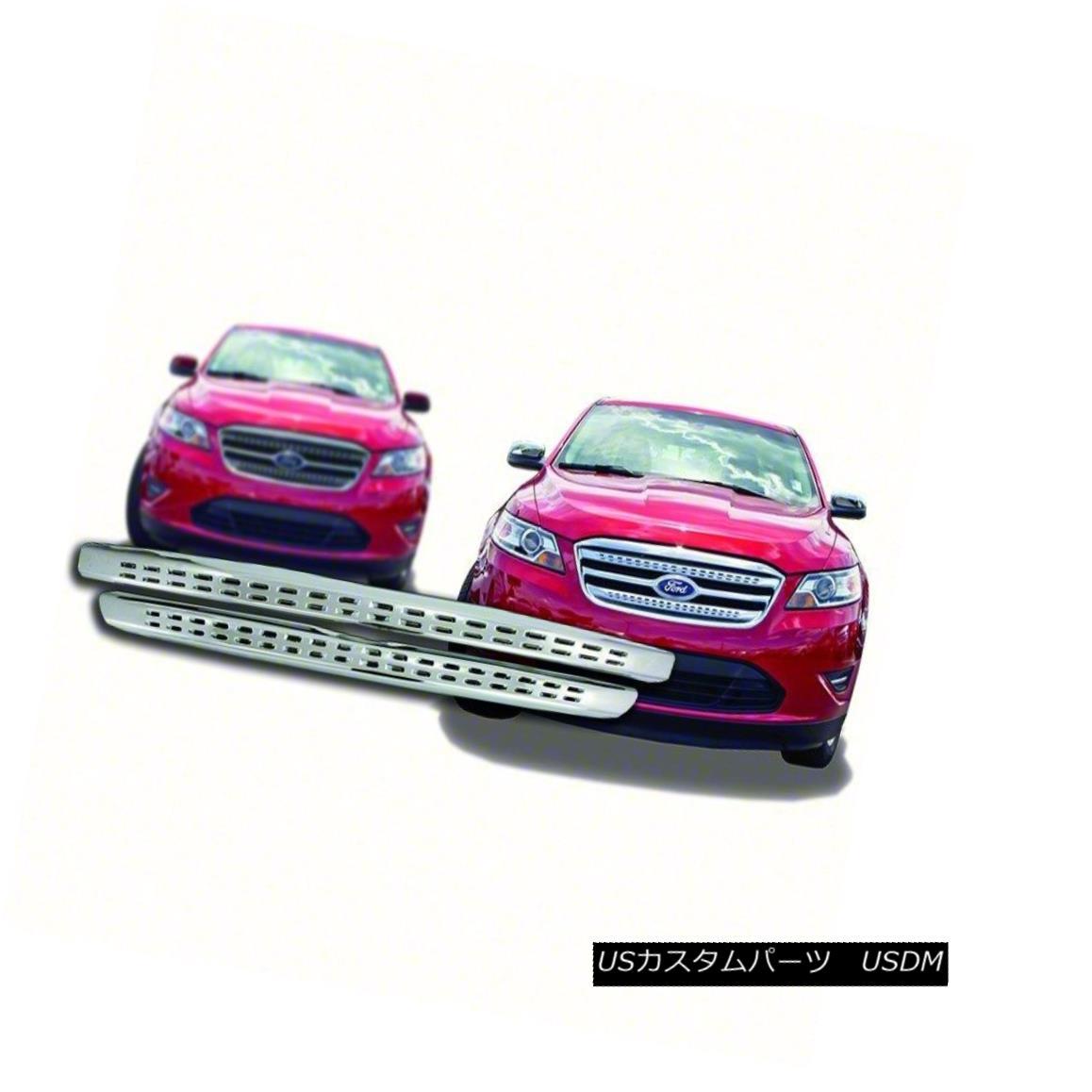 グリル Fits 2010-12 Ford Taurus-Chrome Grille Overlay-IWCGI108 フィット2010-12 Ford Taurus-Chromeグリルオーバーレイ-IWCGI1 08