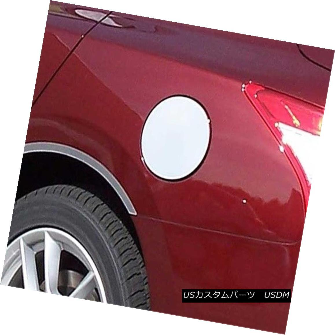 グリル Fits 2009-2014 NISSAN MAXIMA 4-door -Stainless Steel GAS CAP DOOR 2009-2014 NISSAN MAXIMA 4ドアステンレススチールガスCAP DOOR