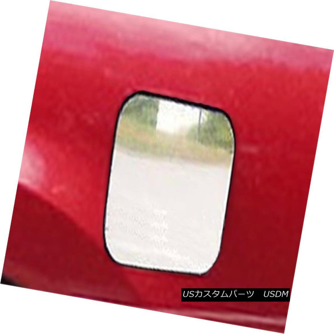 グリル Fits 2004-2008 NISSAN MAXIMA 4-door -Stainless Steel GAS CAP DOOR フィット2004-2008日産マキシマ4ドア - ステンレススチールガスCAP DOOR