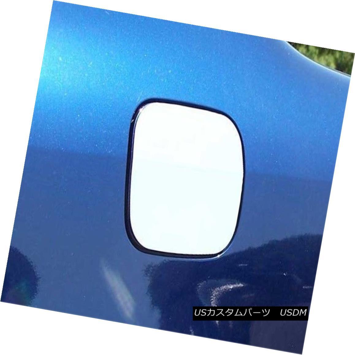 グリル Fits 03-08 TOYOTA COROLLA 4 dr-Stainless Steel GAS CAP DR フィット03-08 TOYOTA COROLLA 4 dr-ステンレススチールGAS CAP DR