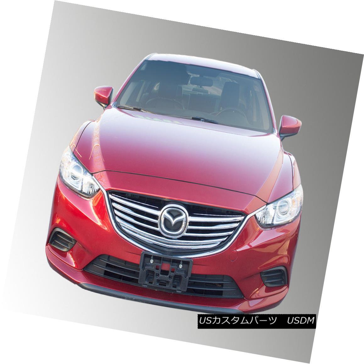 グリル SES Trims - 2-Pc Custom Style Chrome Main Grille for 14-15 Mazda 6 SESトリム - 14 - 15マツダ6のための2 - Pcカスタムスタイルクロムメイングリル