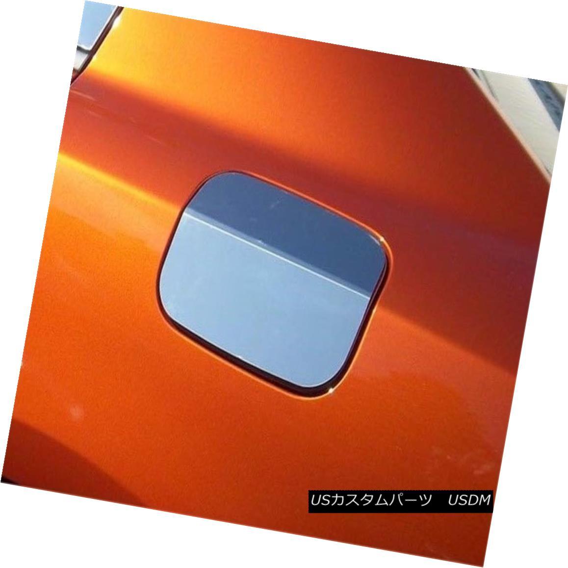 グリル Fits 2011-2016 DODGE CHARGER 4-door -Stainless Steel GAS CAP DOOR 2011-2016 DODGE CHARGER 4ドアステンレススチールガスCAP DOOR