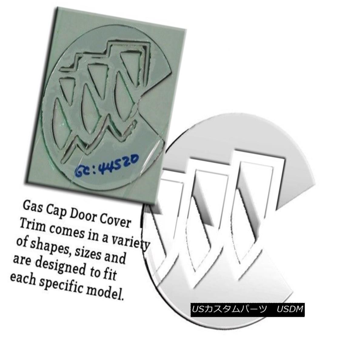 グリル Fits 2004-2007 BUICK RAINIER 4-door, SUV -Stainless Steel GAS CAP DOOR 2004-2007に合うBUICK RAINIER 4ドア、SUV - ステンレススチールガスCAP DOOR