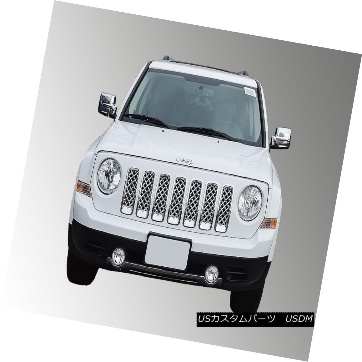 グリル ABS Grille ABS419 for Jeep Patriot 2011 - 2015 Jeep Patriot 2011 - 2015用ABSグリルABS419