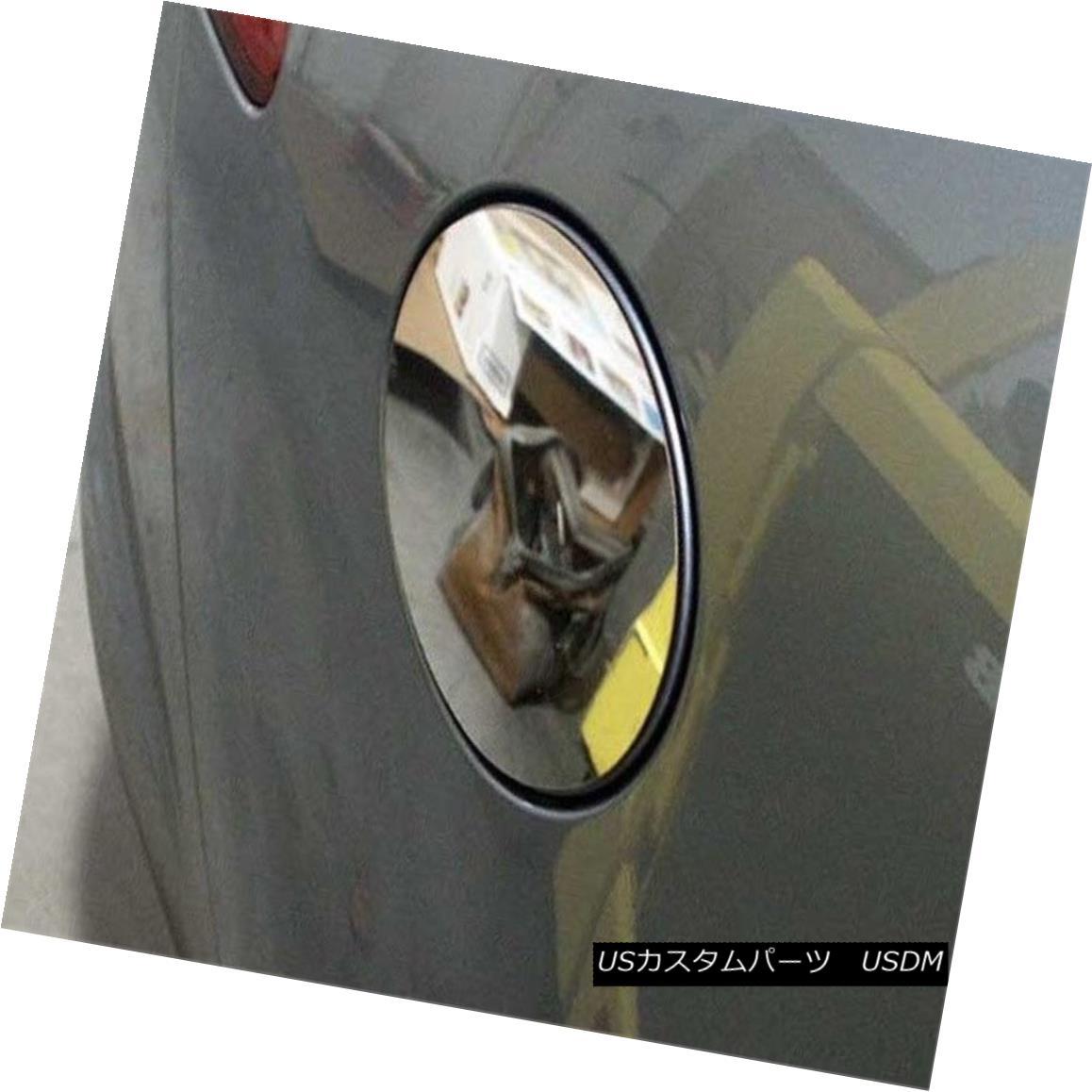 グリル Fits 2009-2015 JAGUAR XF 4-door -Stainless Steel GAS CAP DOOR フィット2009-2015 JAGUAR XF 4ドア - ステンレススチールガスCAP DOOR