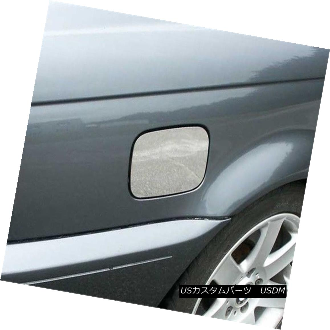 グリル Fits 2000-2005 BMW 3 SERIES 2-door, 325i Coupe -Stainless Steel GAS CAP DOOR 適合2000-2005 BMW 3シリーズ2ドア、325iクーペ - ステンレススチールガスCAP DOOR