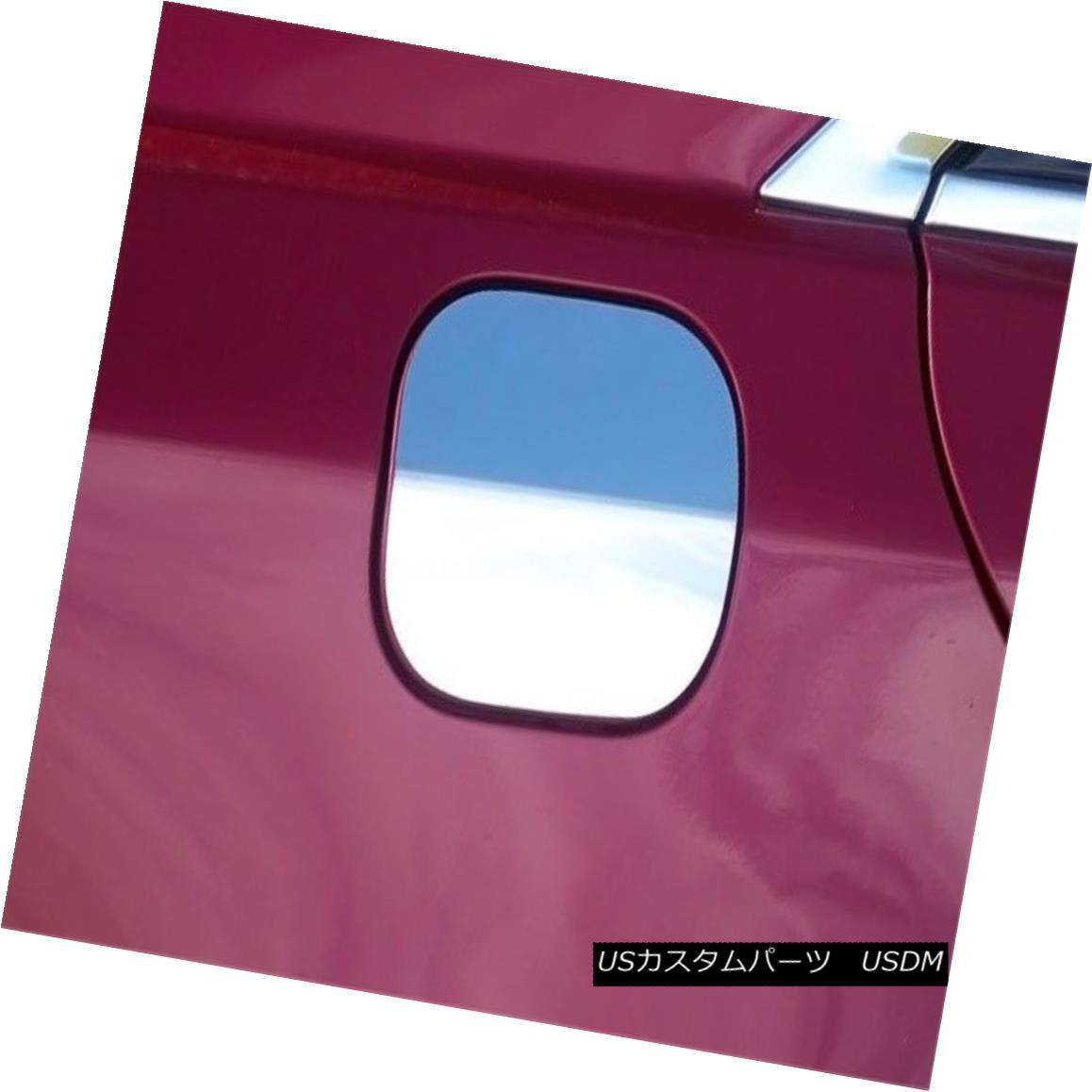 グリル Fits 2014-2016 CADILLAC CTS 4-door -Stainless Steel GAS CAP DOOR フィット2014-2016 CADILLAC CTS 4ドア - ステンレススチールGAS CAP DOOR