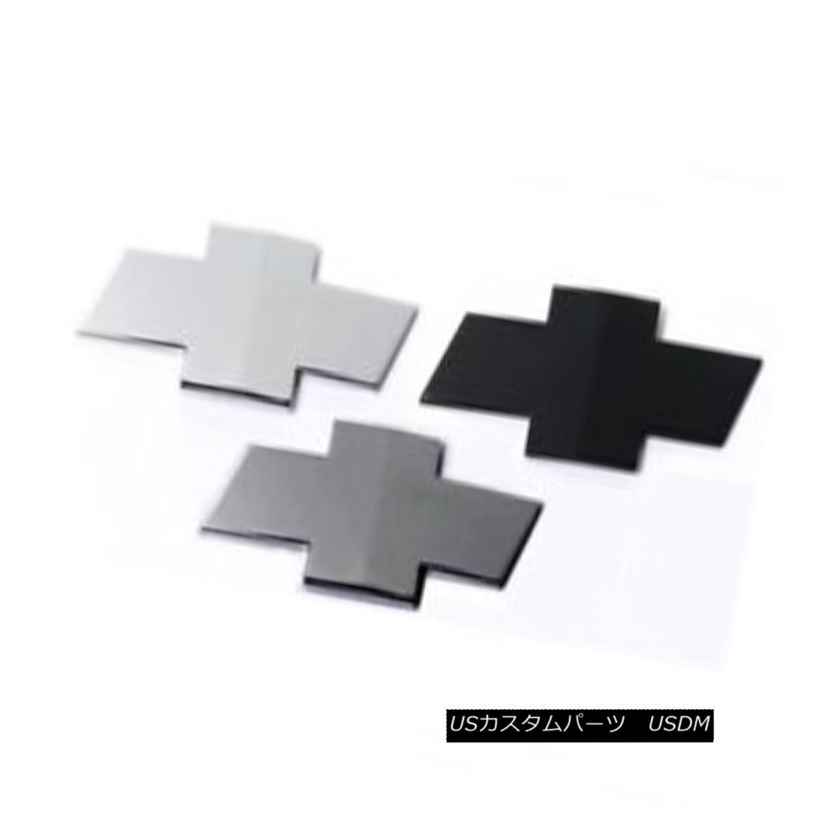 グリル PUTCO 99988GMB - Black Powdercoat Emblem Kit Fits 10-13 Chevy Camaro PUTCO 99988GMB - ブラックパウダーコートエンブレムキット10-13シェビーカマロに適合