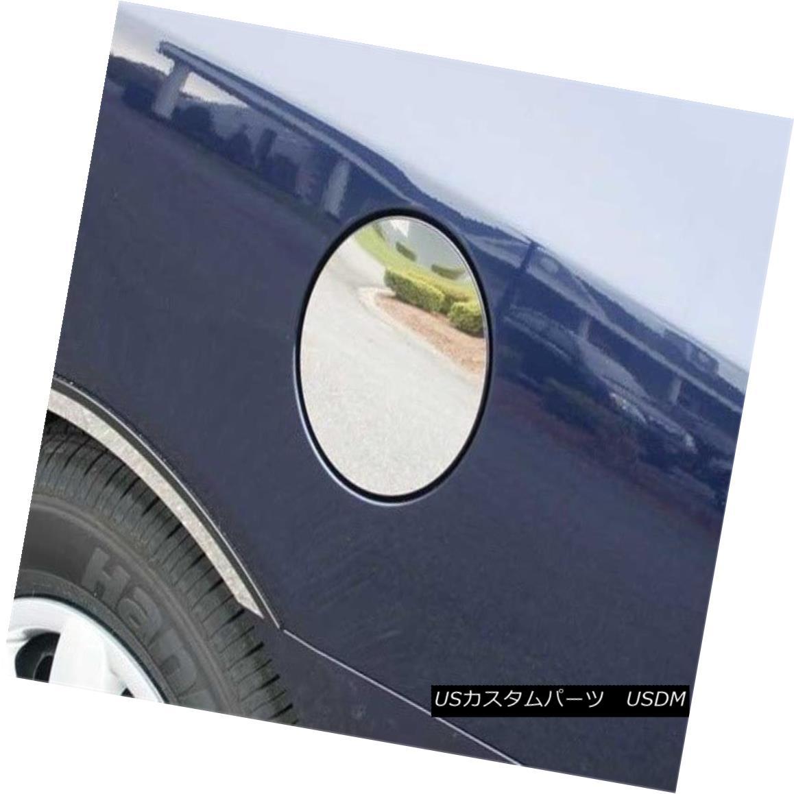 グリル Fits 2007-2010 HYUNDAI ELANTRA 4-door -Stainless Steel GAS CAP DOOR フィット2007-2010 HYUNDAI ELANTRA 4ドア - ステンレススチールGAS CAP DOOR