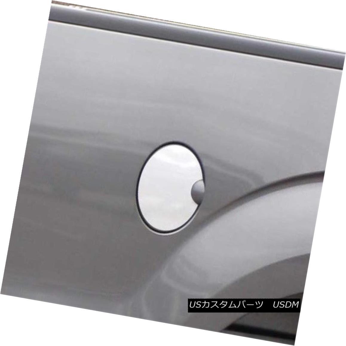 グリル Fits 2009-2014 FORD F150 2/4-door -Stainless Steel GAS CAP DOOR フィット2009-2014フォードF150 2/4ドア - ステンレススチールガスCAP DOOR