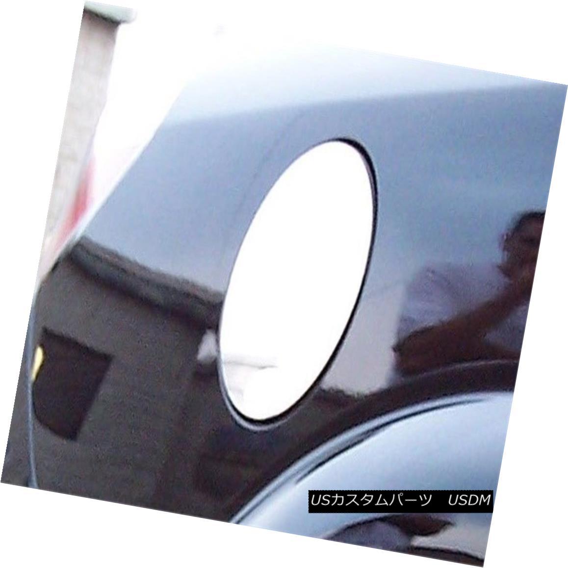 グリル Fits 2007-2009 SATURN AURA 4-door -Stainless Steel GAS CAP DOOR 2007?2009年のSATURN AURA 4ドア - ステンレススチール製GAS CAP DOOR