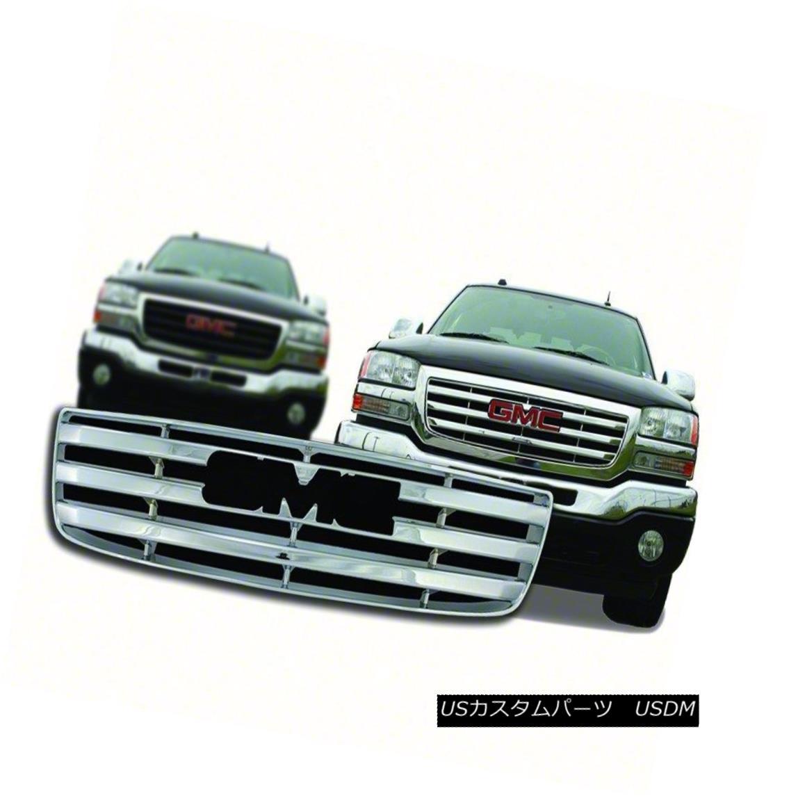グリル Chrome Grille Overlay-Fits 2003-06 GMC Sierra-IWCGI59 クロームグリルオーバーレイフィット2003-06 GMC Sierra-IWCGI59