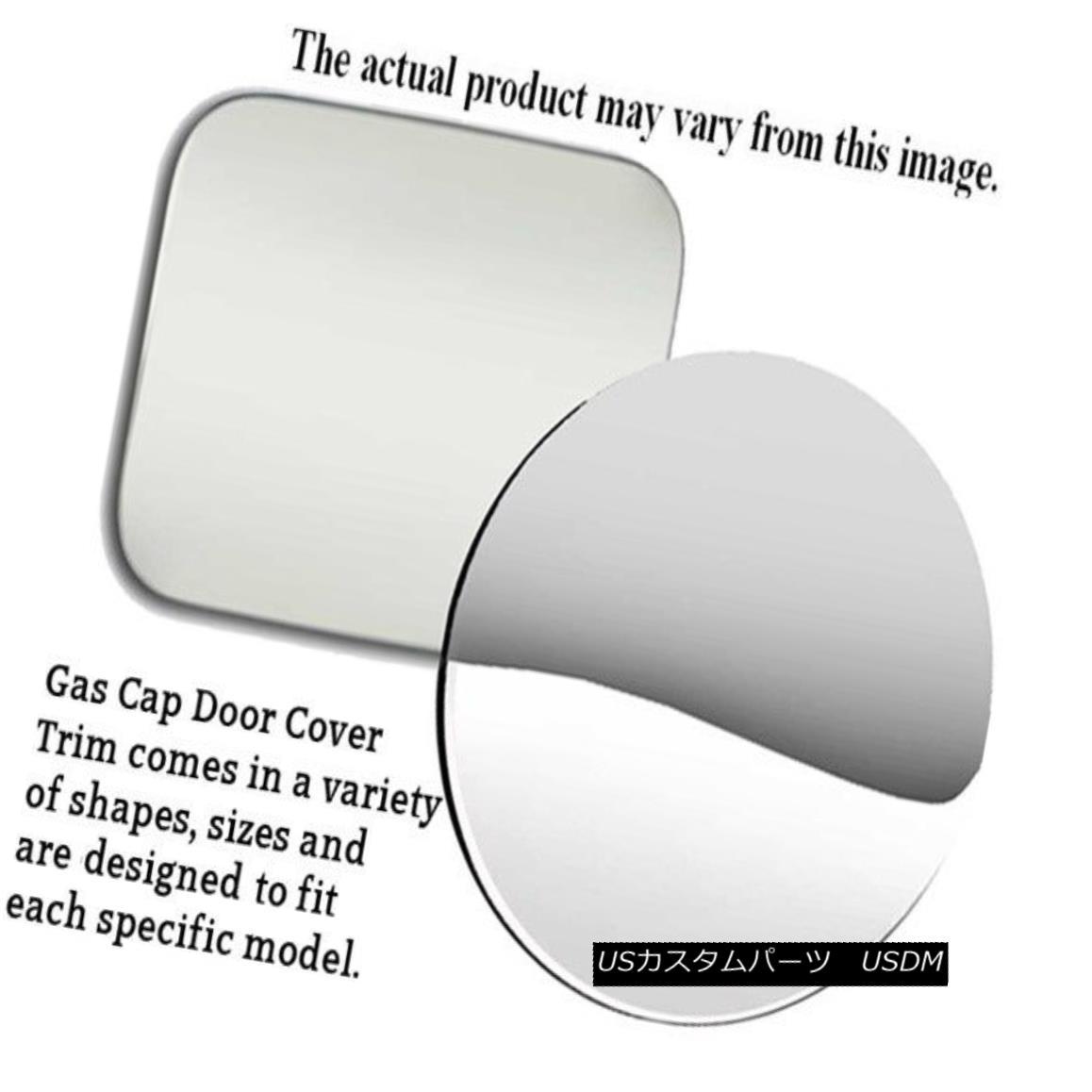 グリル Fits 2005-2007 SATURN ION 4-door -Stainless Steel GAS CAP DOOR 2005-2007 SATURN ION 4ドア - ステンレススチールガスCAP DOOR