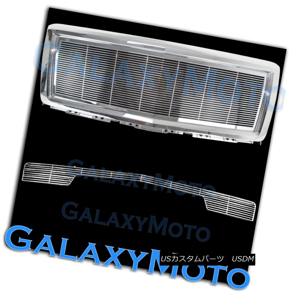 グリル 14-15 Chevy Silverado 1500 Chrome Billet Grille+Bumper NO Tow+Replacement+Shell 14-15 Chevy Silverado 1500クロム・ビレット・グリル+バンパー無し+代替品 t + Shell