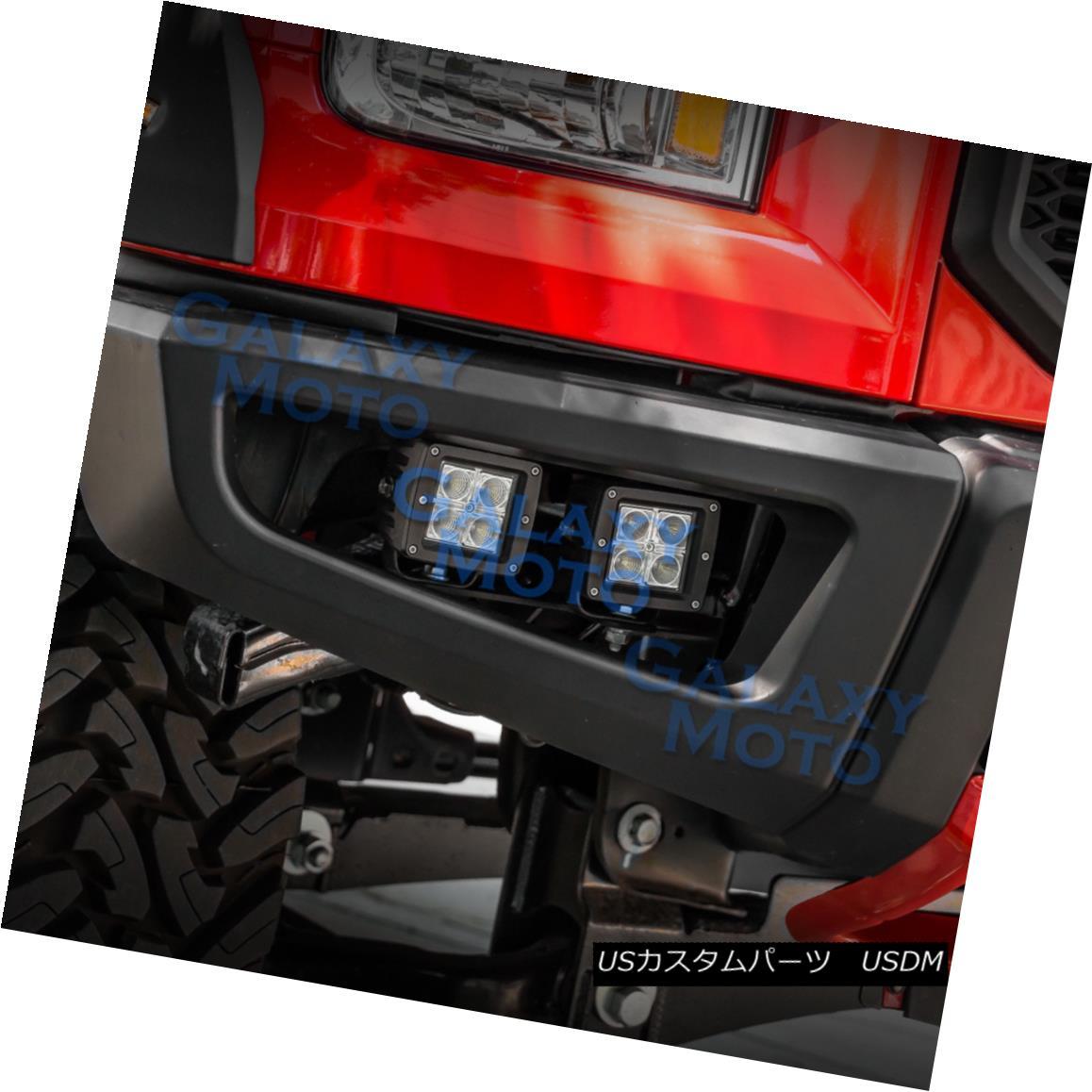 グリル LED Light Mounting Bracket for 15-17 F150 Razer Raptor Conversion Bumper 15-17 F150用Razer Raptor変換バンパーのLEDライト取り付けブラケット