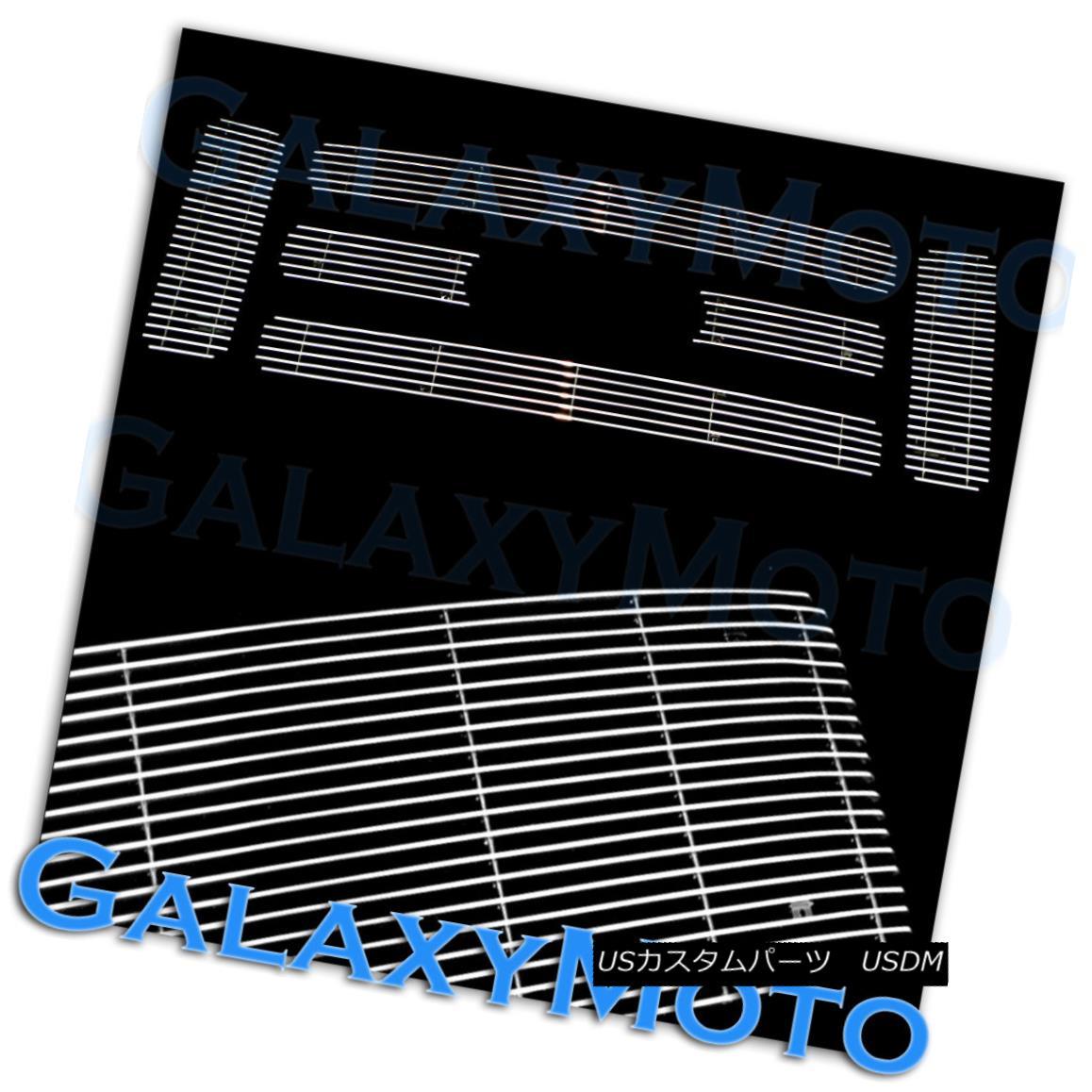 グリル 08-10 Ford Super Duty+Excursion 6pc Overlay Polished Chrome Billet Grille Insert 08-10フォードスーパーデューティ+エクスカーション6pcオーバーレイポリッシュクロムビレットグリルインサート