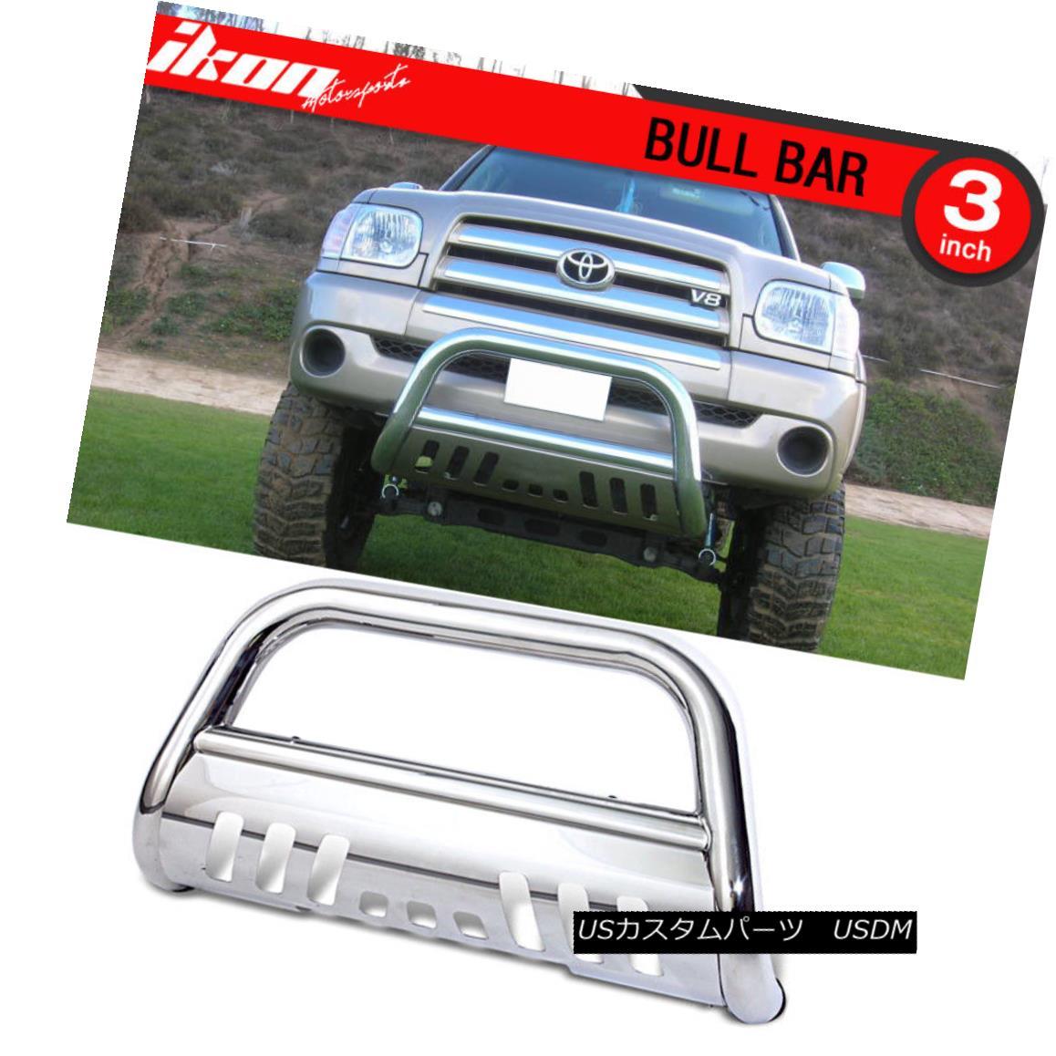 グリル Fits 99-06 Tundra 01-07 Sequoia Ss Bull Bar Grill Guard Front Bumper Fits 99-06 Tundra 01-07セコイアSsブルバーグリルガードフロントバンパー
