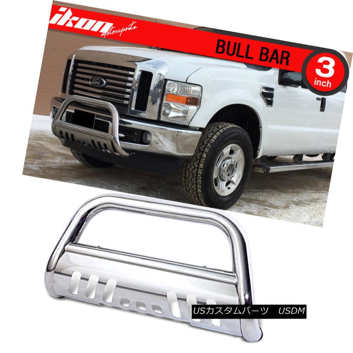 グリル For 08-10 Ford F250 350 450 Superduty Bull Bar Ss Grill Guard Front Bumper 08-10 Ford F250 350 450 Superduty Bull Bar Ssグリルガードフロントバンパー