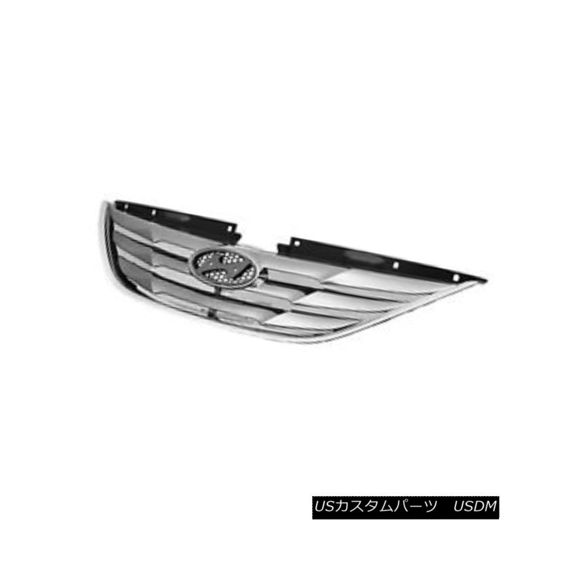 グリル Replacement Grille for 2011 2012 2013 Hyundai Sonata SE Limited Models Value 2011年2012年交換用グリル2013 Hyundai Sonata SE Limitedモデル値