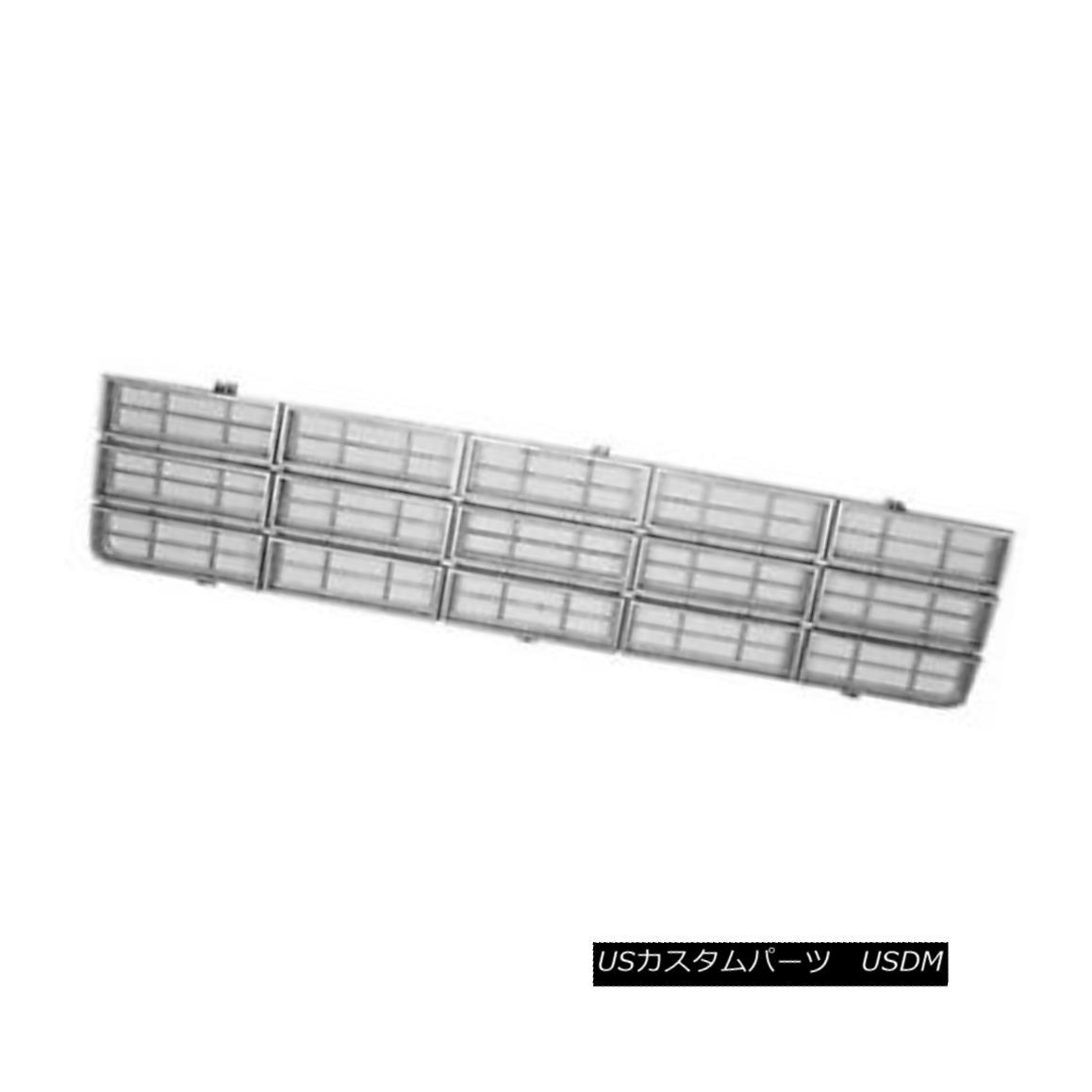 グリル New Replacement Grille Light Silver 104-00113E 新しい交換グリルライトシルバー104-00113E