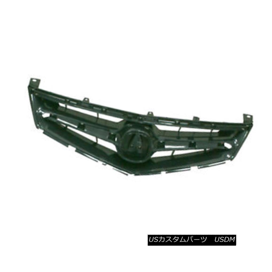 グリル New Replacement Grille Black ABS 104-50133 新しい交換グリルブラックABS 104-50133