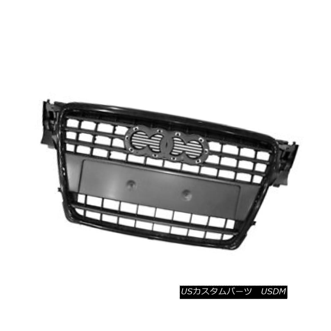 グリル Replacement Grille Black w/o Emblem for Sedan / Wagon w/Black Molding 104-50672A セダン/ワゴン/ブラックモールディングのための交換用グリルブラックw / oエンブレム104-50672A